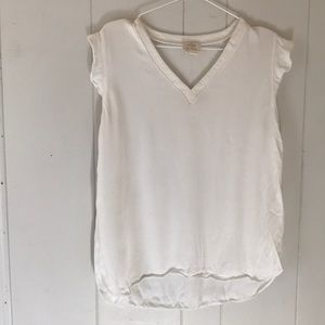 KATE SPADE ♠️ large blouse white EUC